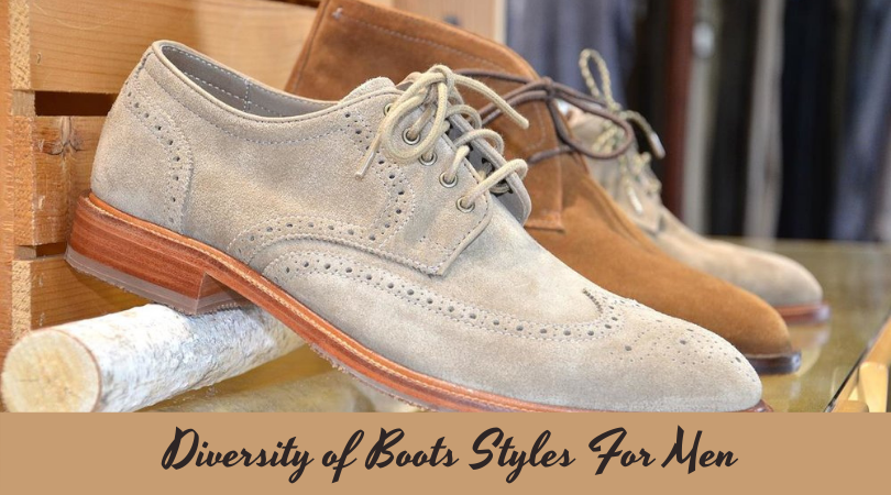 Diversity of Boots Styles For Men